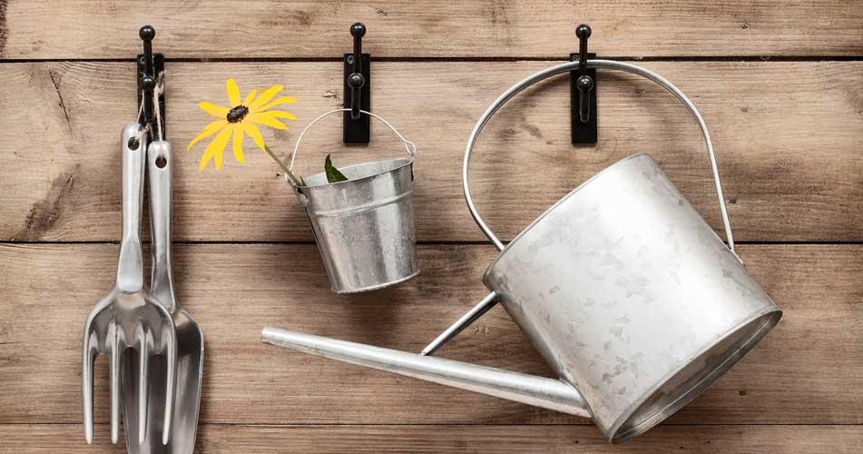 Sharpening School Gardening Tools